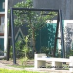 Ayunan segitiga 150x150 MAINAN OUT DOOR