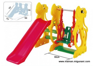 Mainan Balon, Luncuran Plastik, Ayunan Plastik, Play Yard TYPE PL 09