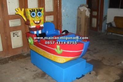 spongbob perahu